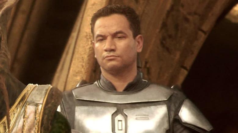 Temuera Morrison as Jango Fett in Star Wars: Episode II -- Attack of the Clones