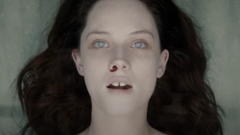 Olwen Kelly as Jane Doe, from the trailer for The Autopsy of Jane Doe