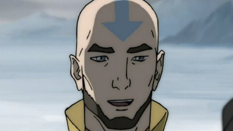 Avatar Aang and Avatar Korra