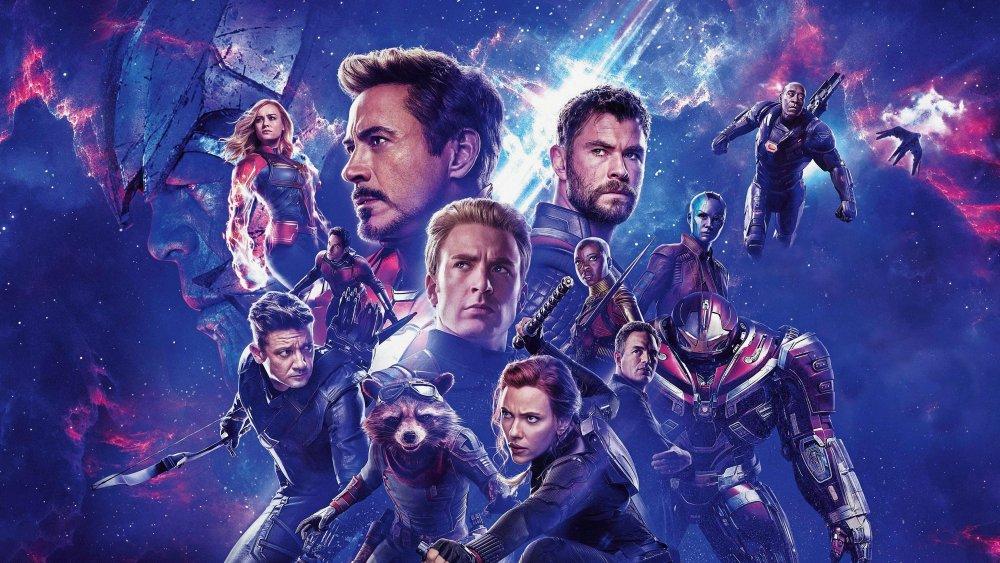 A promotional still of the cast of Marvel's Avengers: Endgame