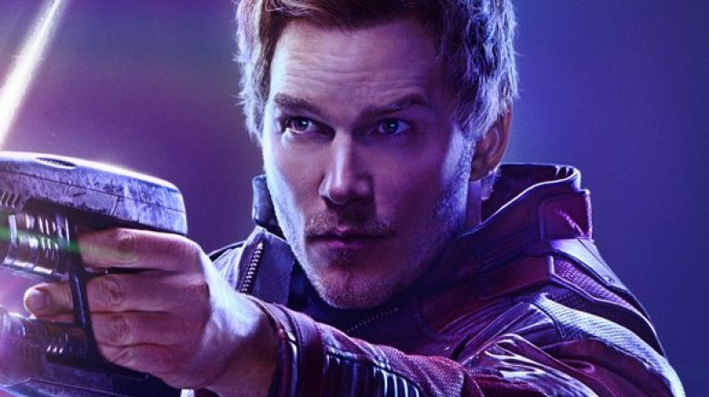Chris Pratt Star Lord Avengers: Infinity War poster