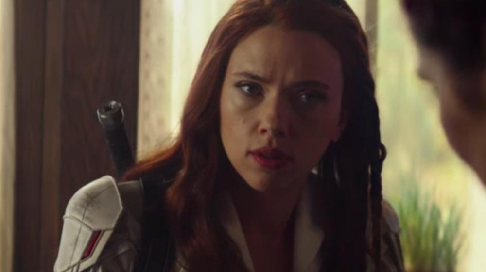 Scarlett Johansson as Black Widow in Black Widow