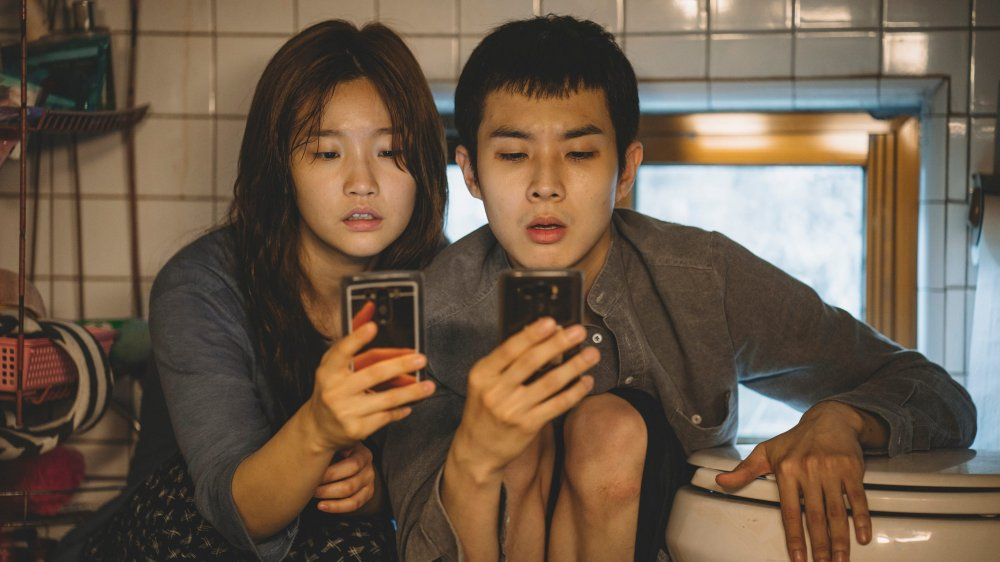 Choi Woo-shik and Park So-dam star in the Oscar-winning film Parasite