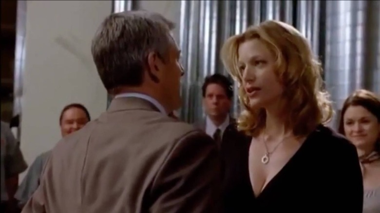 Skyler White singing to Ted during his birthday celebration on Breaking Bad