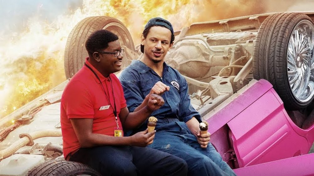 Lil Rel Howery and Eric Andre in Bad Trip poster
