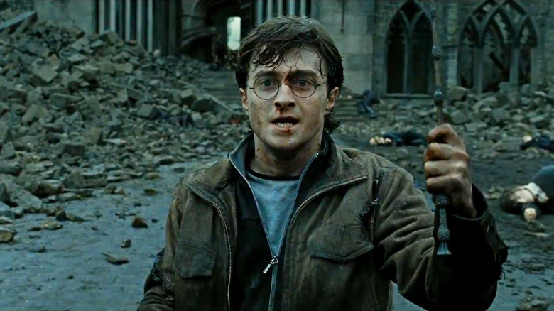 The Battle Of Hogwarts Ending We Never Got To See