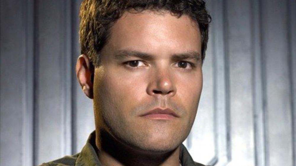 Aaron Douglas as Galen Tyrol on Battlestar Galactica