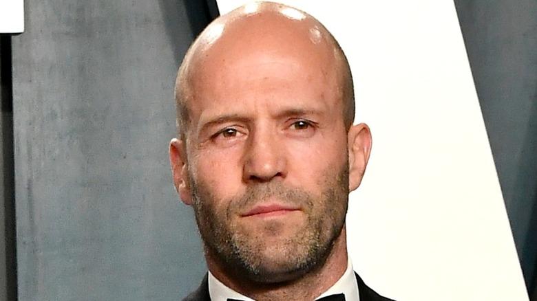 Jason Statham posing