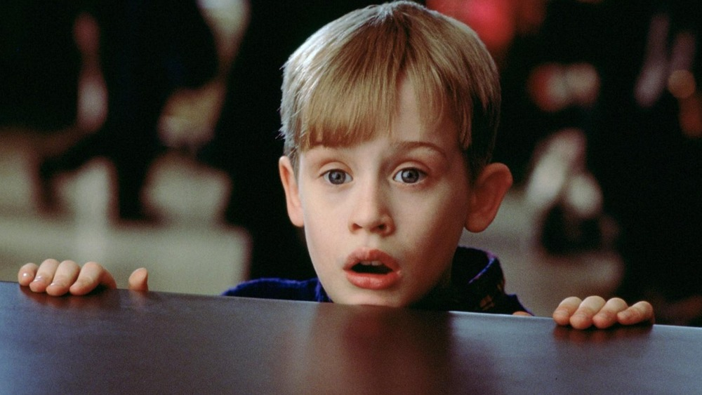 Macaulay Culkin as Kevin McCallister in Home Alone 2: Lost in New York
