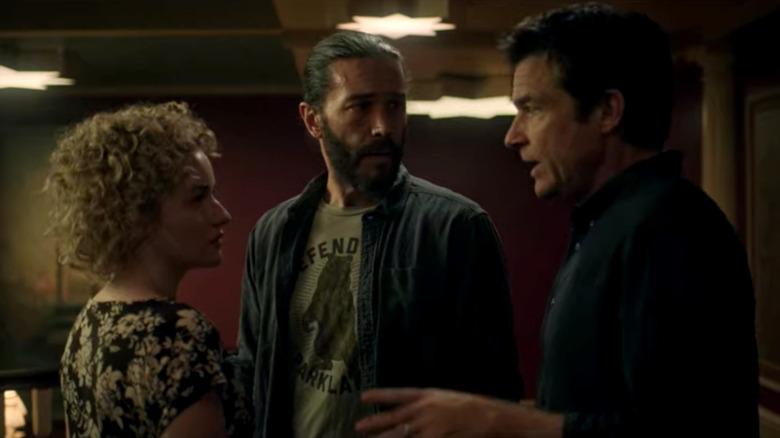 Julia Garner, Tom Pelphrey, and Jason Bateman in 'Ozark'