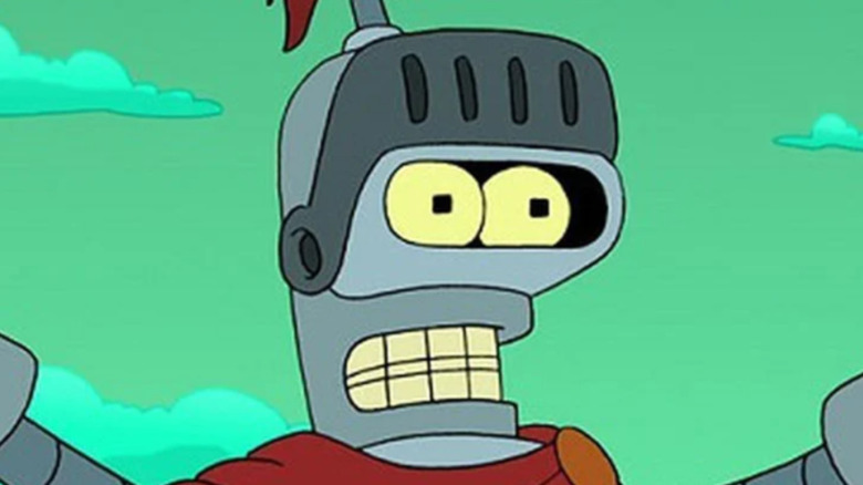 Bender preaching