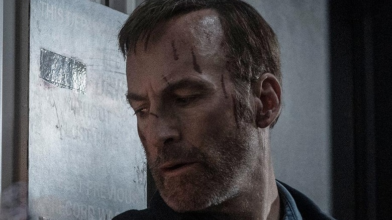 Bob Odenkirk Hutch Mansell bloody face