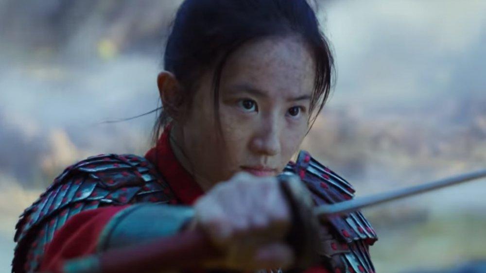 Yifei Liu in Mulan final trailer