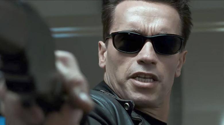 Arnold Schwarzenegger in T2: Judgement Day