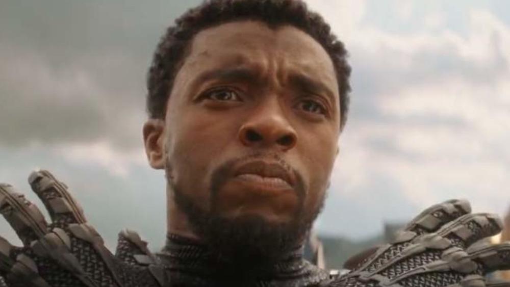 Chadwick Boseman Black Panther arms crossed