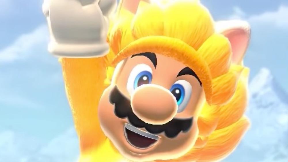 Cat Mario victory