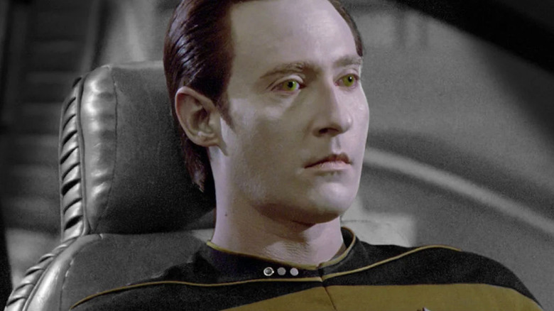 Data on Star Trek: The Next Generation