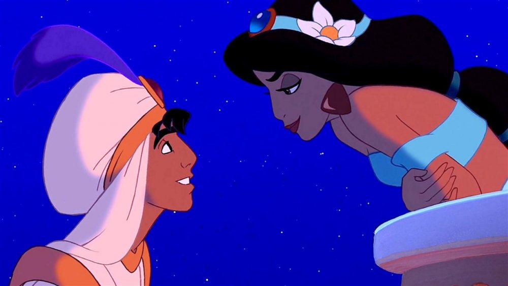 Aladdin and Jasmine in Aladdin