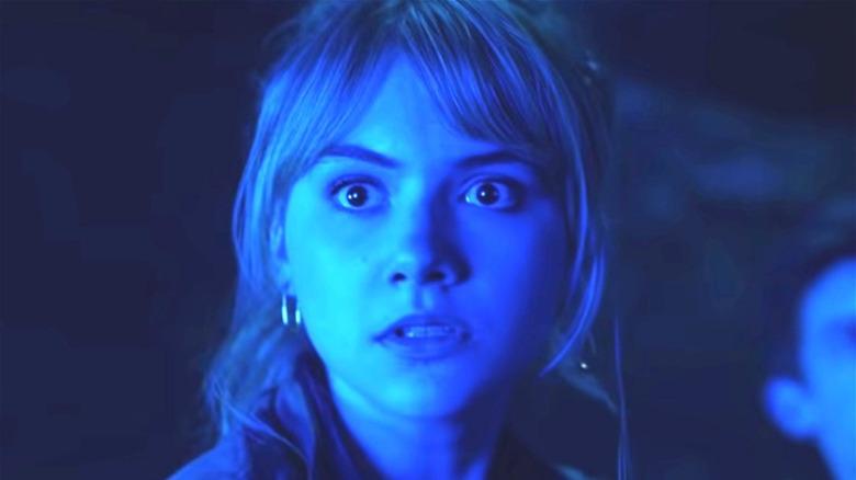 Kinsey looking surprised