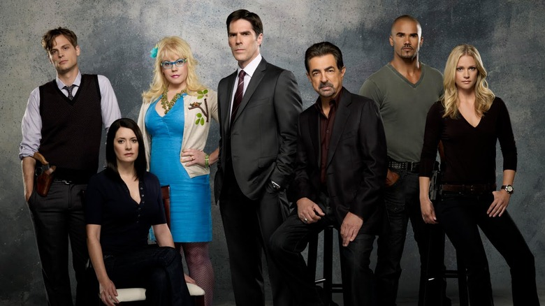 the classic and longest-lasting main cast of Criminal Minds