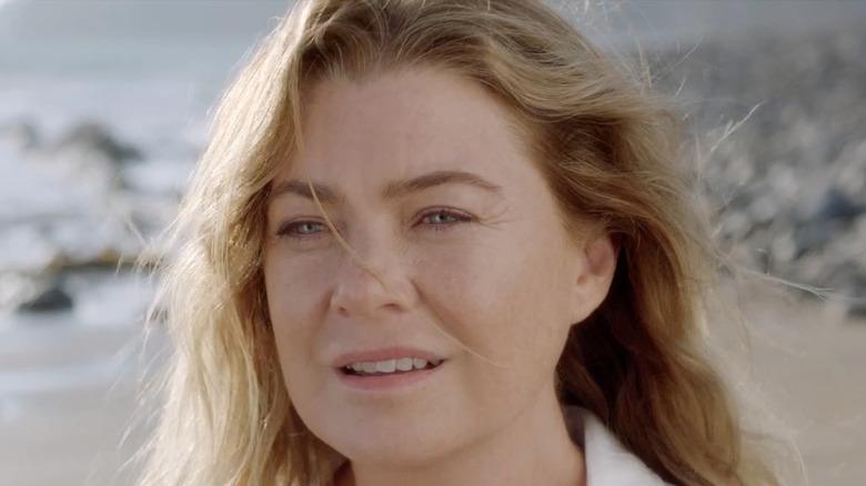 Meredith Grey looks ahead