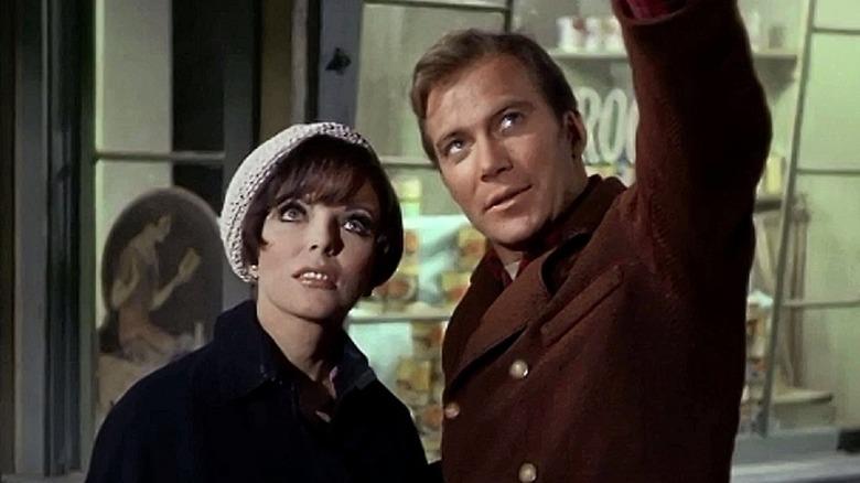 Kirk pointing in Star Trek