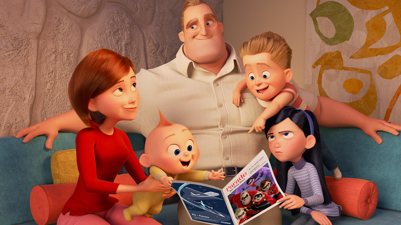 Scene from The Incredibles