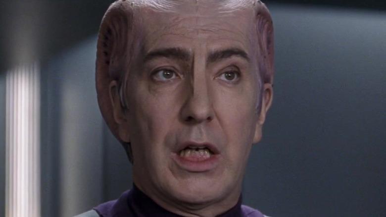Alan Rickman as alien
