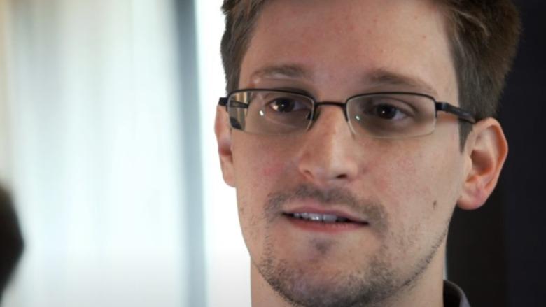 Edward Snowden speaking