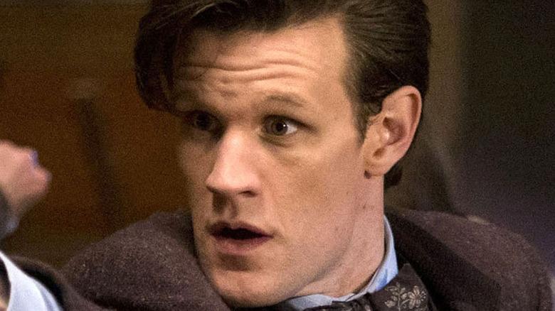 Matt Smith doctor surprised