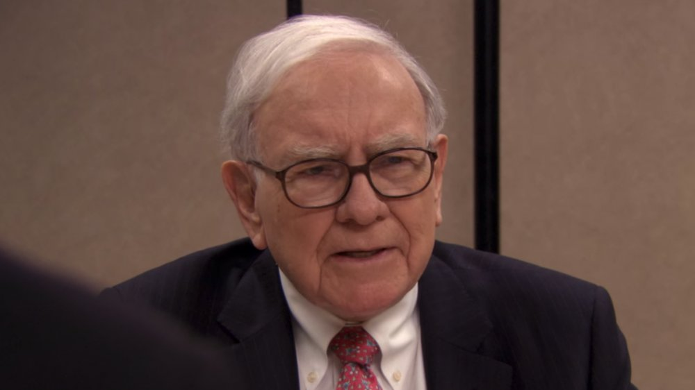 Warren Buffett in The Office