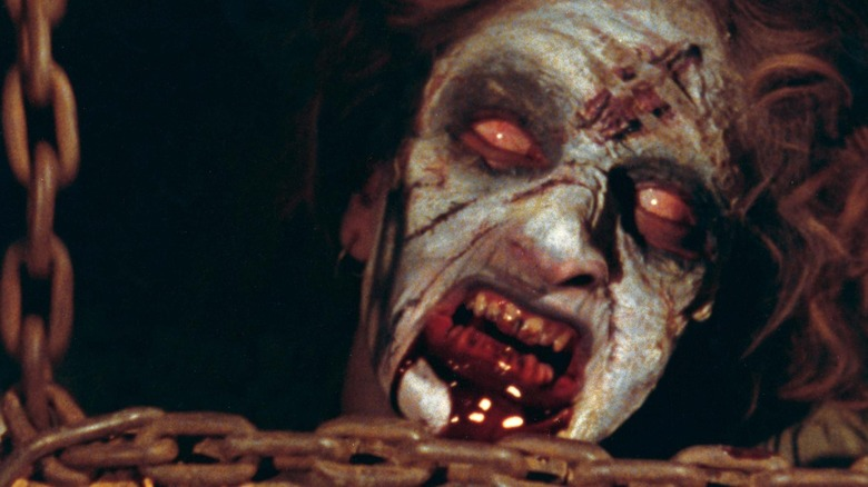 A demon in The Evil Dead