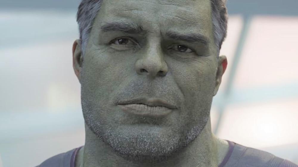 Professor Hulk smiling