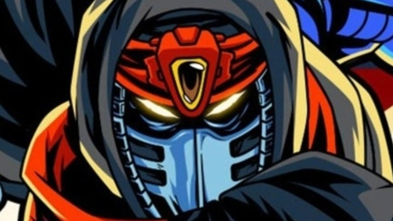 Cyber Shadow protagonist