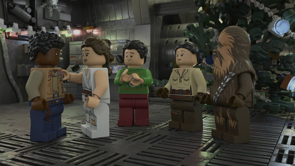 from the LEGO Star Wars Holiday Special