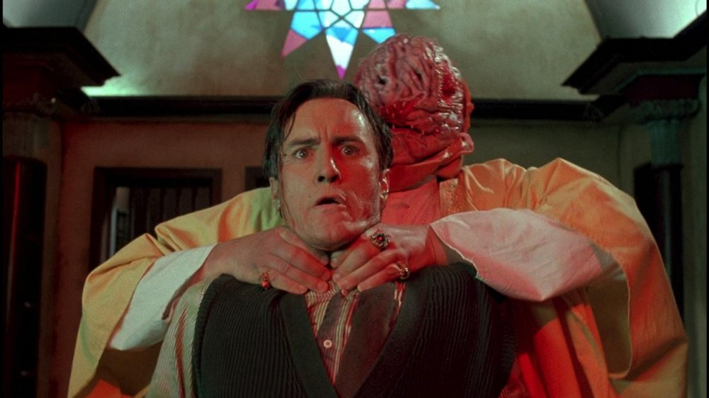 """Jeffrey Combs as H.P. Lovecraft in 'Necronomicon"""""""