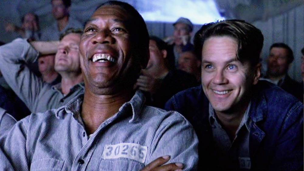 Shawshank Redemption laughing
