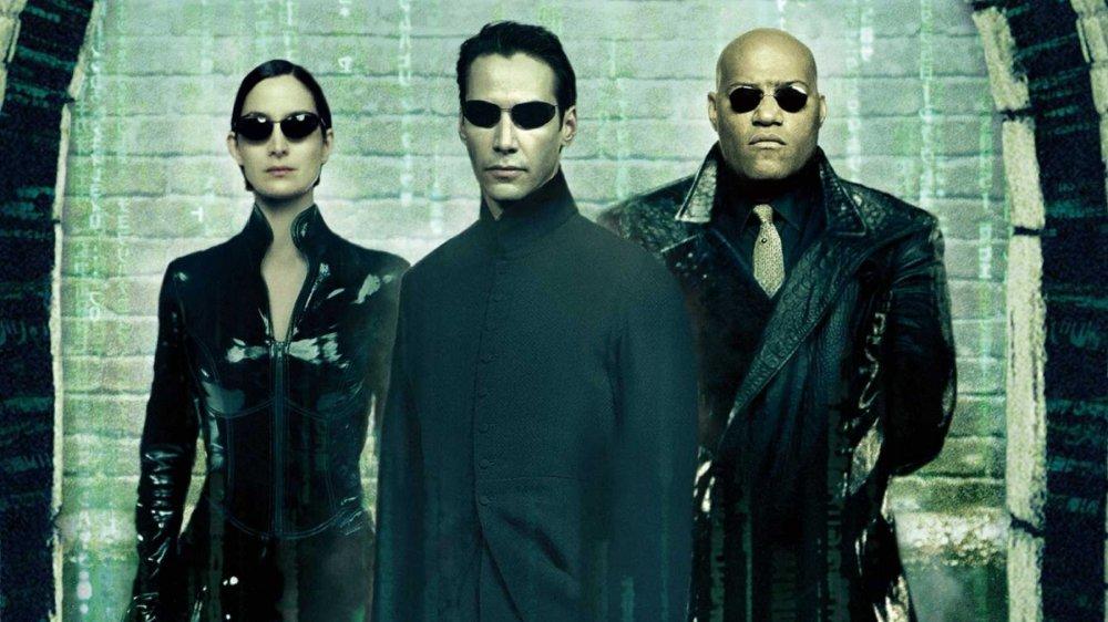 The Matrix Reloaded promo art