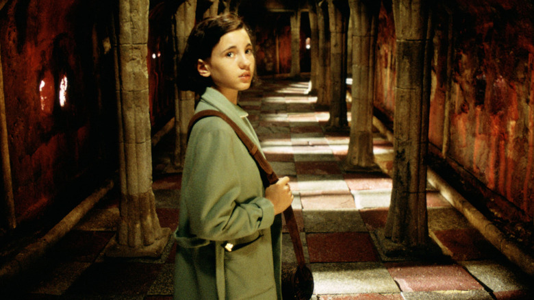 Ivana Baquero as Ofelia in Pan's Labyrinth