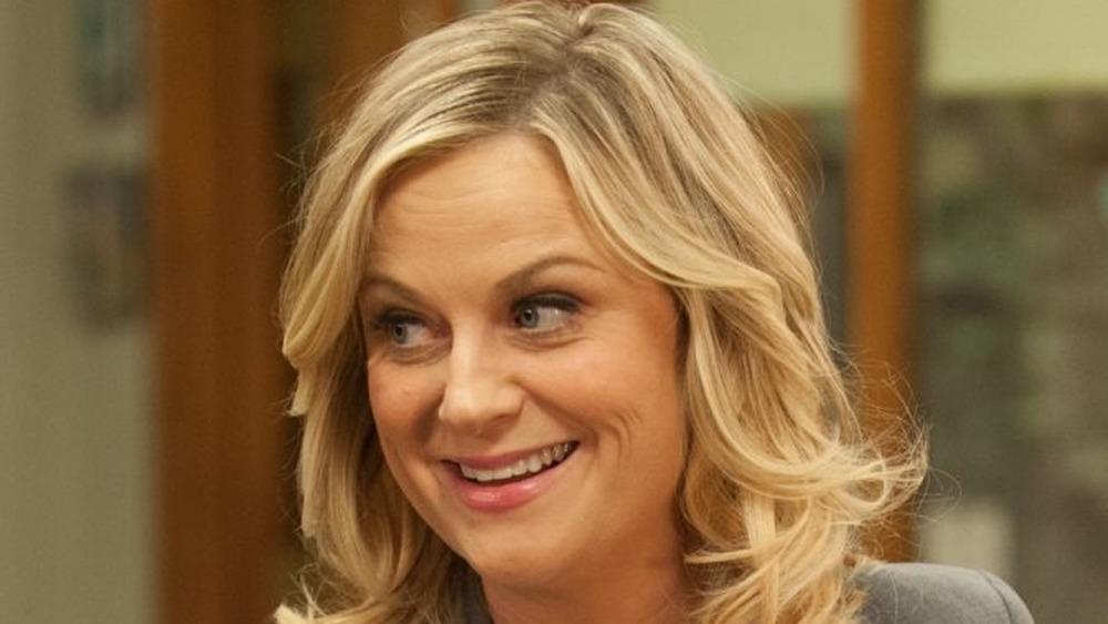 Leslie Knope smiling