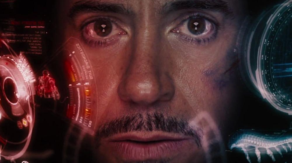 Tony Stark HUD