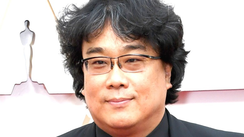 Director Bong Joon Ho smiles