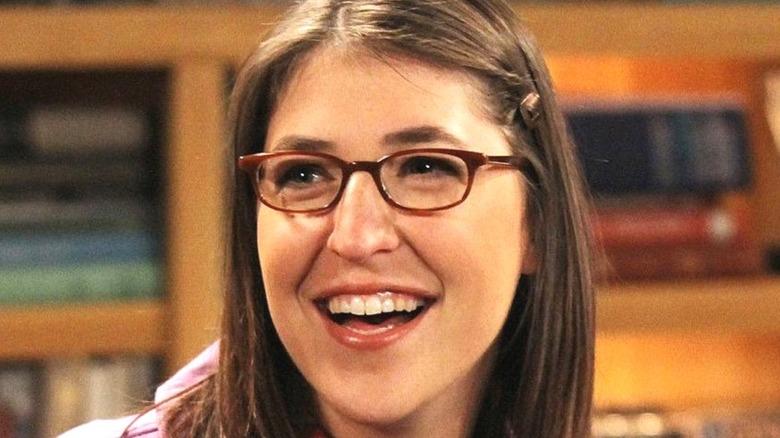 Amy Farrah Fowler smiling