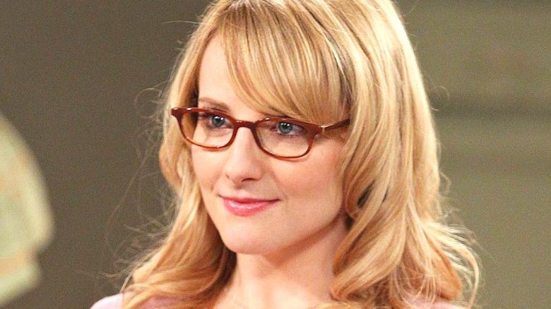Bernadette with glasses