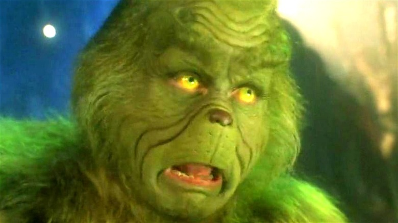 The Grinch surprised
