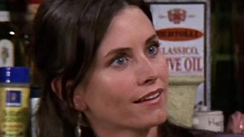 Monica looking surprised