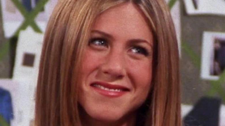 Jennifer Aniston Rachel Greene smiling