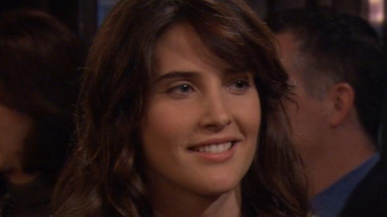 Cobie Smulders Robin Scherbatsky smiling