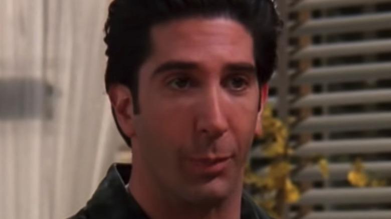 Ross looking unamused