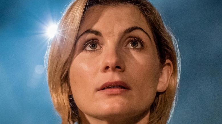 Jodie Whittaker as the Doctor in Doctor Who